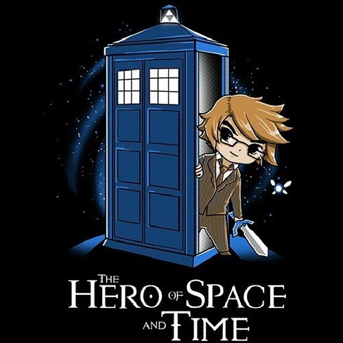 legend of zelda,tshirts,tardis,doctor who