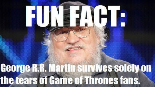 grrm Game of Thrones tears - 8135252992