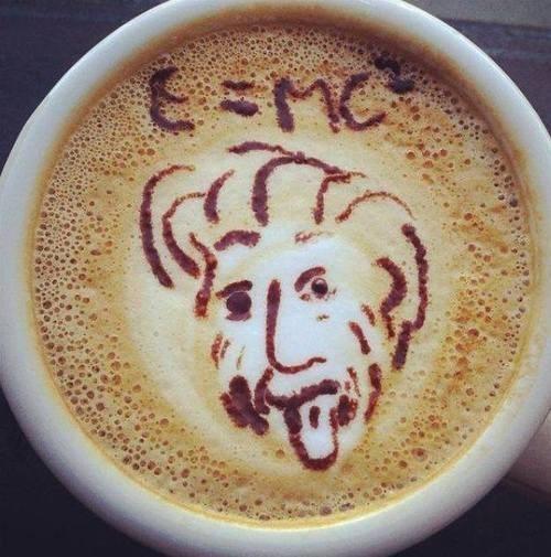 coffee albert einstein funny - 8135255040