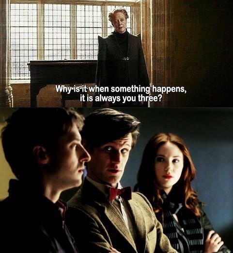amy pond 11th Doctor Harry Potter rory williams - 8135273216
