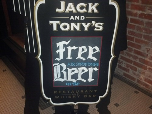 beer free funny sign - 8135293696