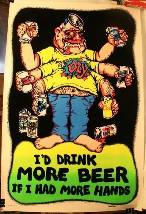 beer drinking hands funny - 8135325952