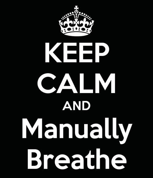 keep calm manual breathing - 8135355136
