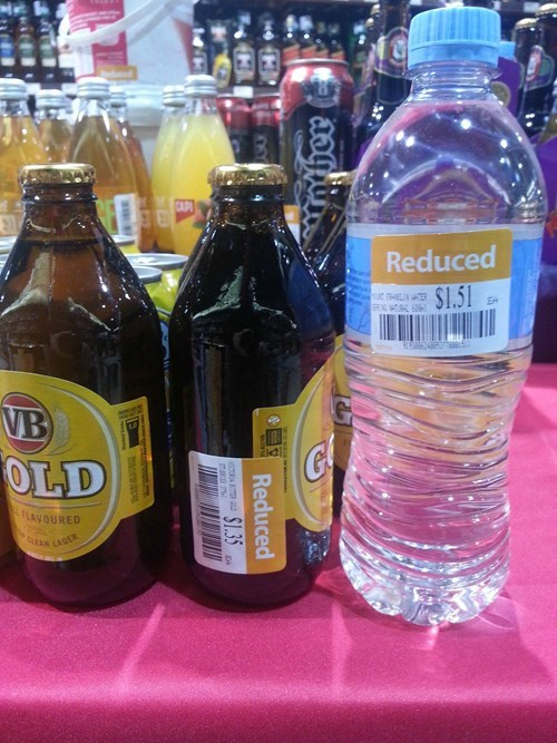 beer water australia cheap funny