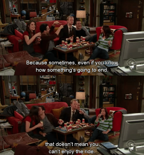 how i met your mother TV Words Of Wisdom - 8135489280