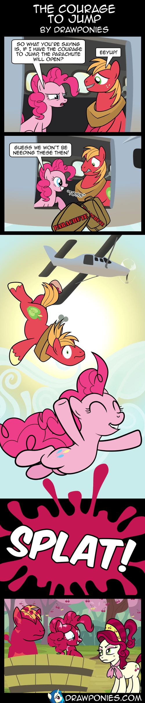 Big Macintosh,pinkie pie,web comics