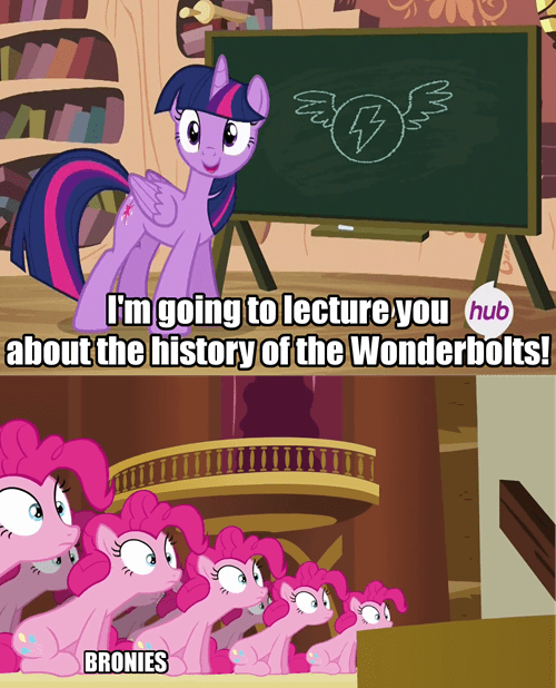 the wonderbolts Bronies twilight sparkle lecture - 8136332544