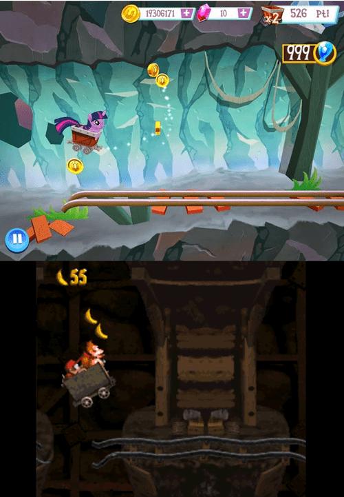 games,donkey kong,MLP