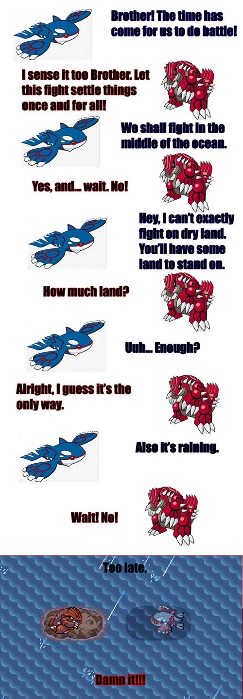 kyogre not fair groudon - 8136760320