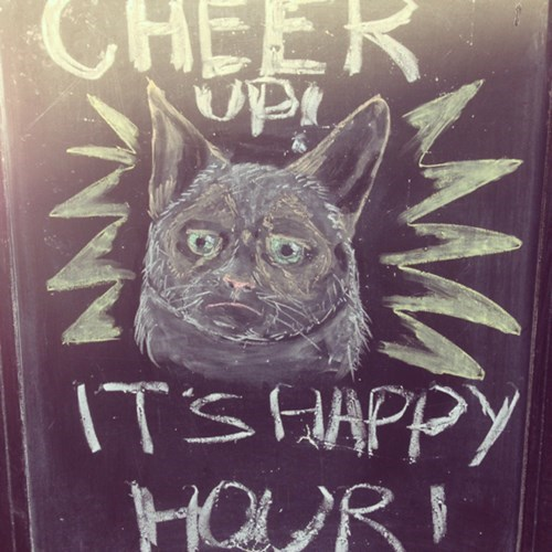 sign happy hour pub funny - 8136826368