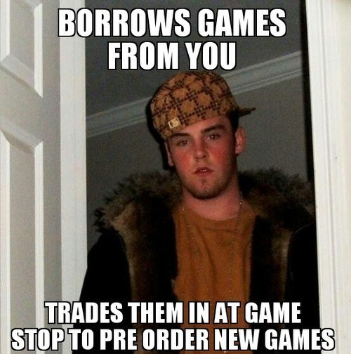 games,video games,Scumbag Steve