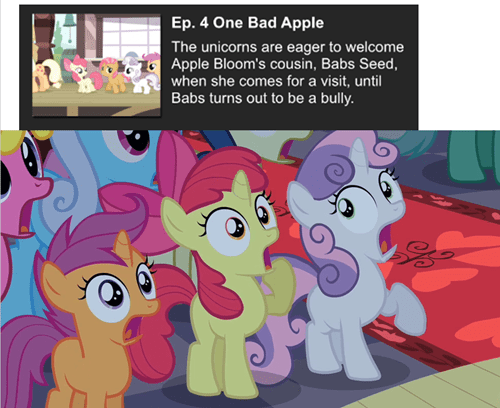 you had one job unicorns cutie mark crusaders
