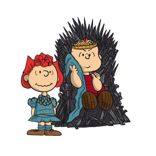 crossover peanuts Game of Thrones Fan Art - 8137423616