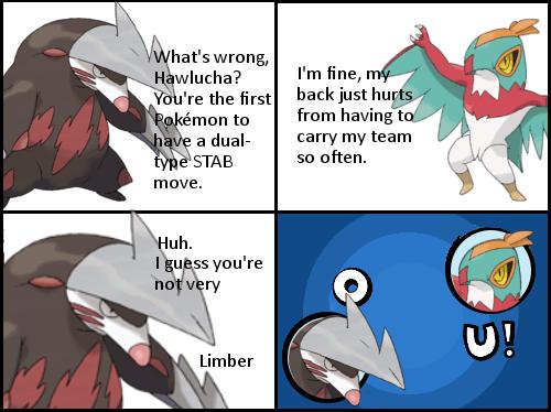 Pokémon hawlucha OU - 8137654016