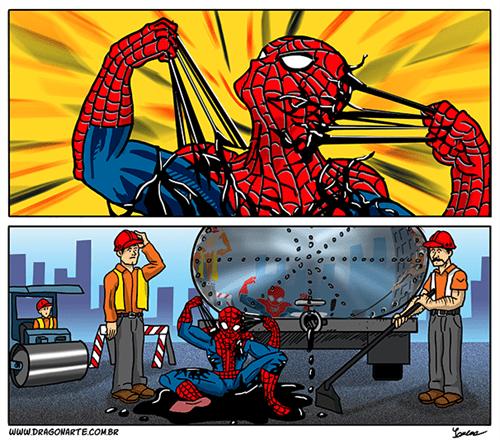 Spider-Man Venom web comics - 8137710080