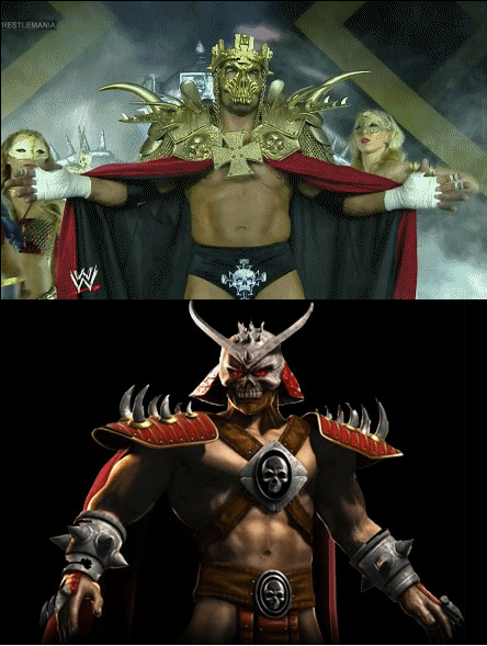 WrestleMania shao kahn Mortal Kombat