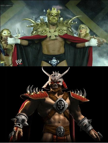 WrestleMania shao kahn Mortal Kombat - 8137736704