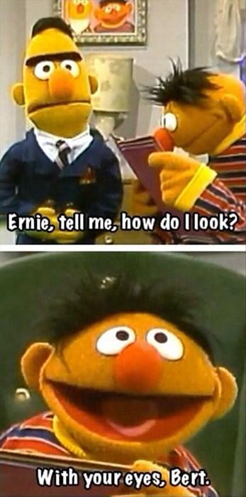 burt and ernie Sesame Street funny - 8137748736