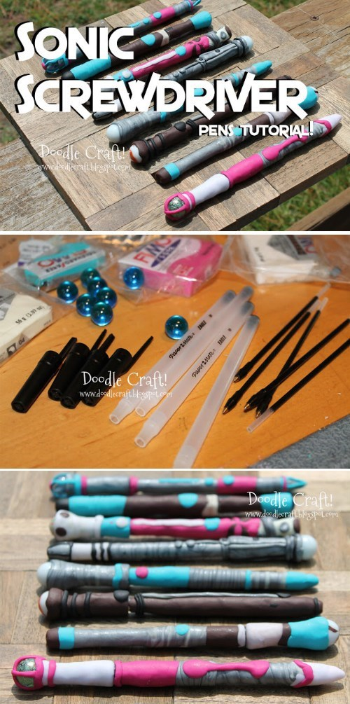 sonic screwdriver doctor who DIY - 8137754112