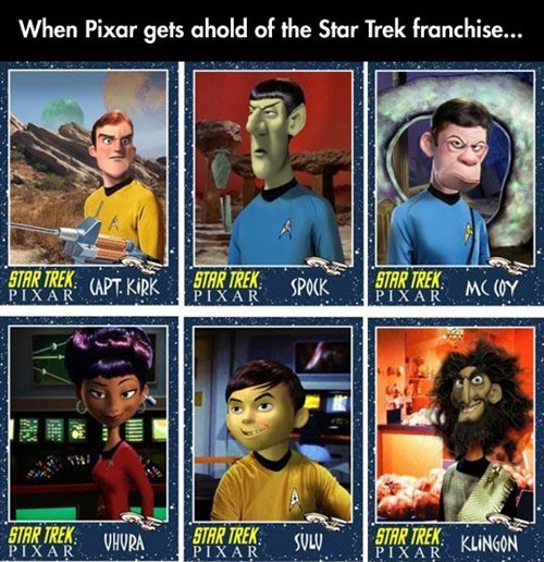 pixar,Star Trek