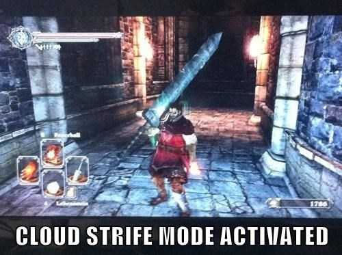 final fantasy dark souls looks more like auron buster sword