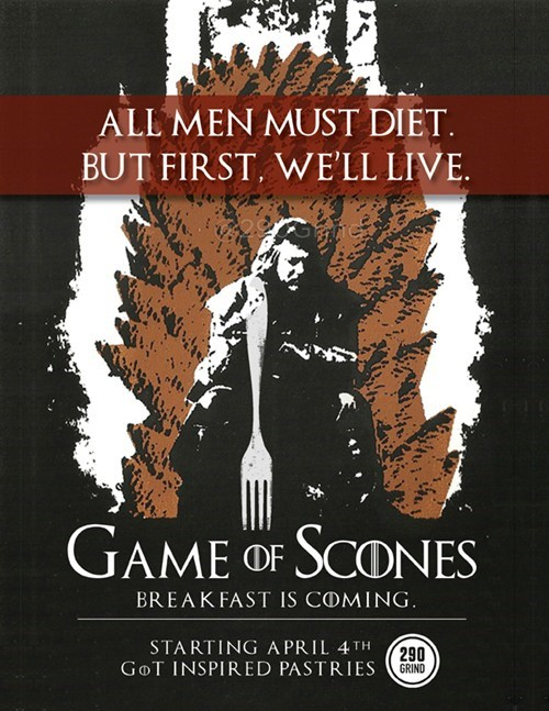 All Men Must Diet - But First, We'll Live.