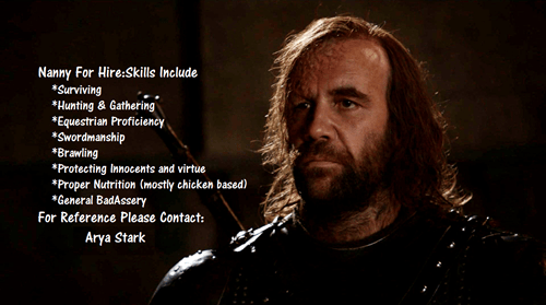 the hound Game of Thrones season 4