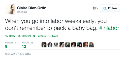 twitter,labor,parenting