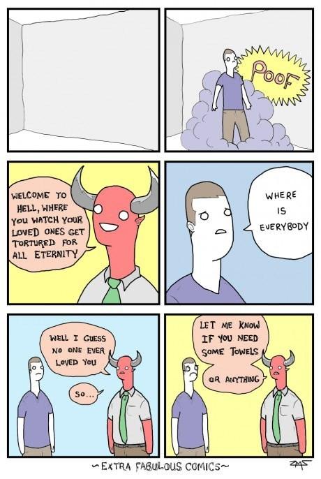 hell sad but true lonely web comics - 8138192384