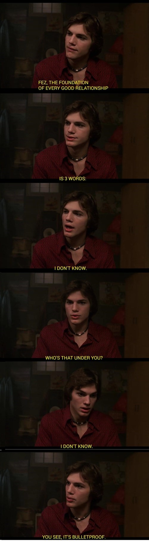 TV,that 70s show,funny,dating advice