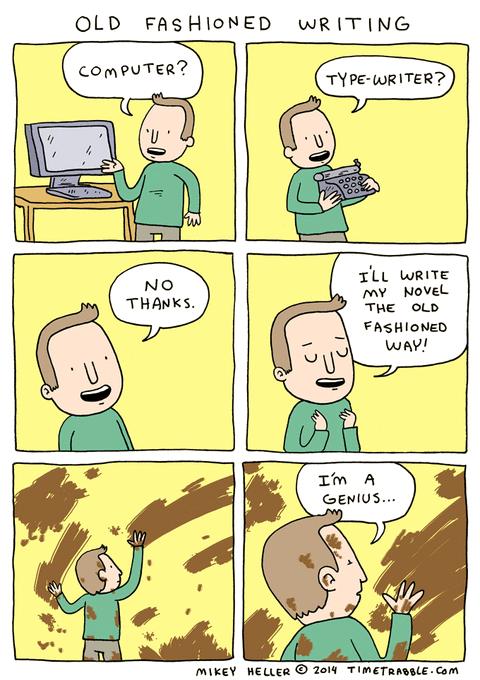 technology writing web comics - 8138275840