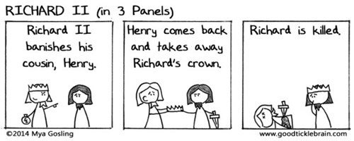 list,shakespeare,web comics