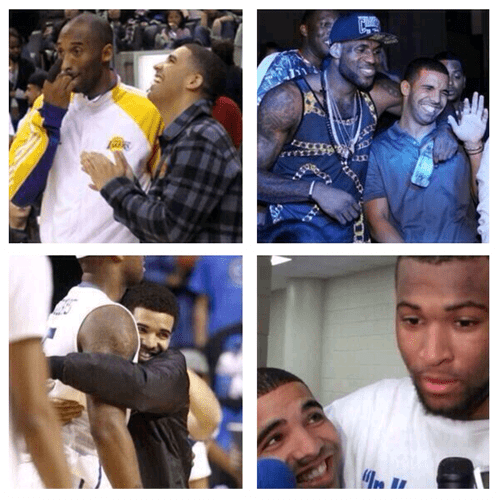 nba,Drake,lebron james,basketball