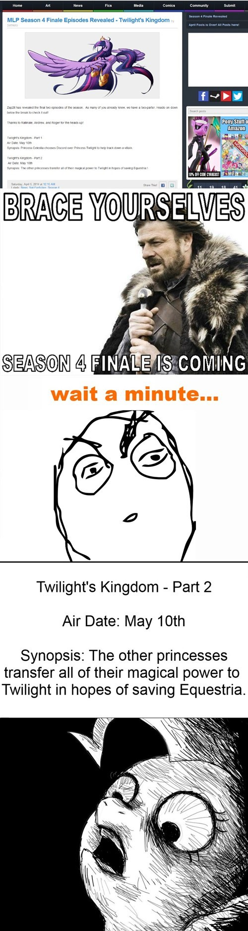 brace yourself,twilight sparkle,mlp season 4