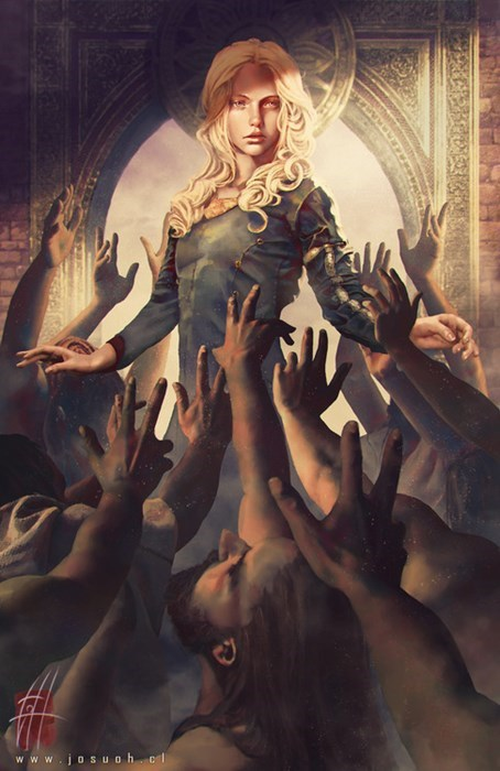 season 3 Game of Thrones Fan Art Daenerys Targaryen - 8138453504