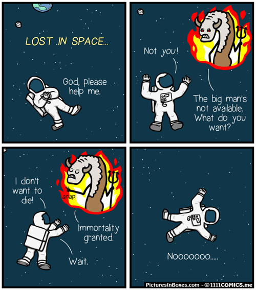 hell devil space web comics - 8138457856