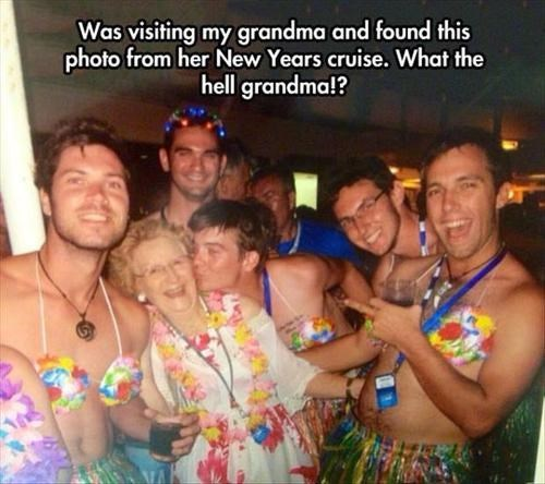 grandma,party time,sexy times