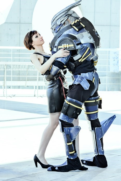 commander shepard cosplay mass effect Garrus - 8138556416