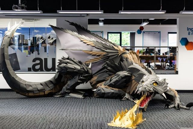 dragon Game of Thrones paper Office UK - 8138757