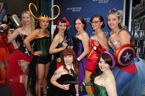 cosplay The Avengers ladies - 8138893056