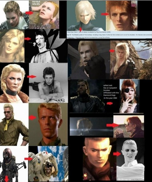 metal gear solid,david bowie