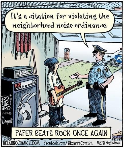 puns noise rock paper scissors web comics - 8139391488