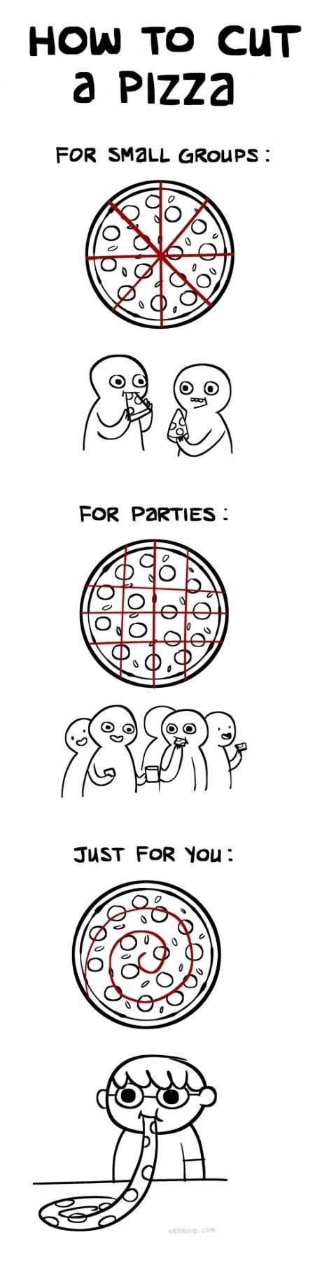 pizza guides web comics