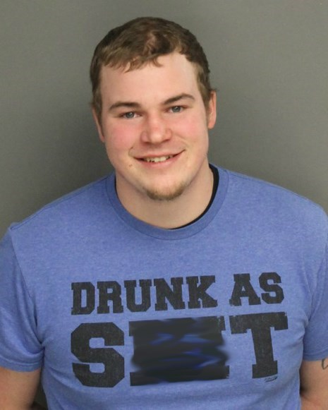 poorly dressed drunk t shirts arrested - 8139417088
