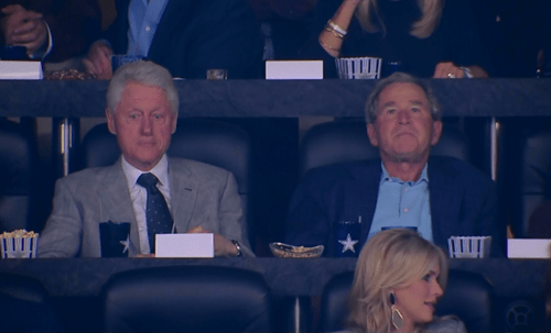 presidents,george w bush,college basketball,ncaa championship,bill clinton