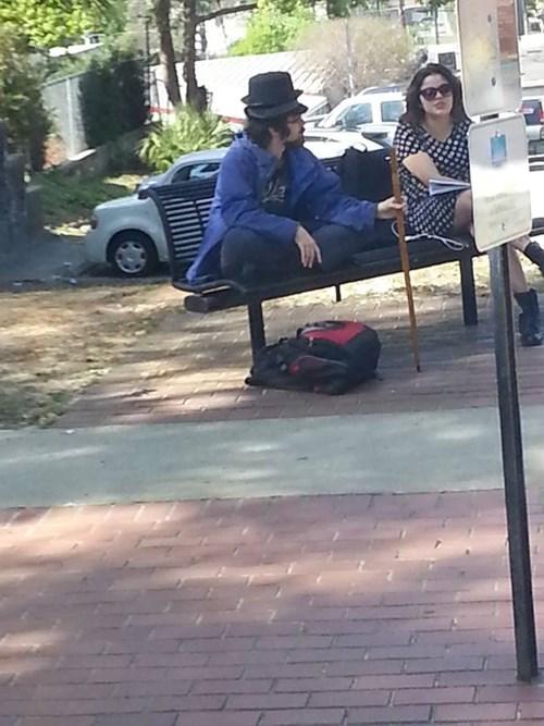 poorly dressed fedora hat - 8139598592