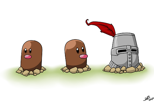 Pokémon diglett wednesday dark souls diglett solaire - 8139618304