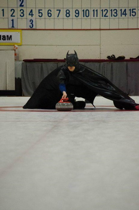poorly dressed curling batman g rated - 8139676160