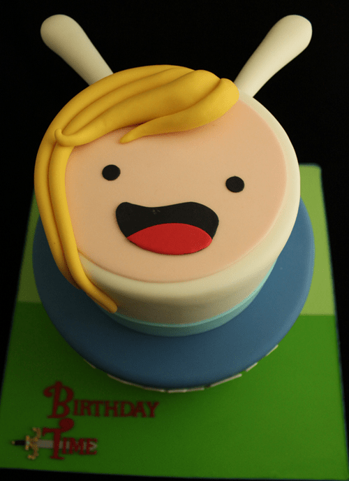 cake cartoons adventure time - 8139705856