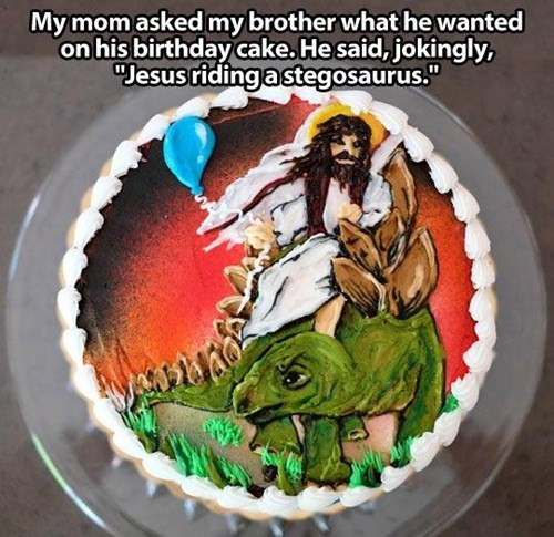 jesus cake easter birthday g rated win
